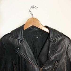 Theory leather jacket sizing